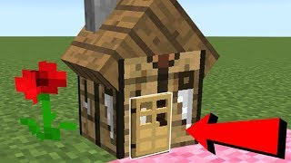 Minecraft: CRAFTING TABLE HOUSE BLOCK!!! (LIVE INSIDE REAL CRAFTING TABLE!) Custom Command