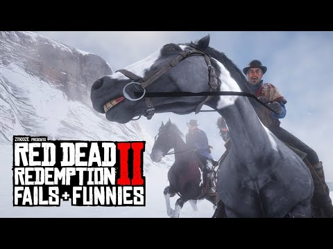 Red Dead Redemption 2 - Fails & Funnies #69