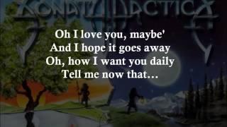 Last Drop Falls - SONATA ARCTICA - Lyrics - HD