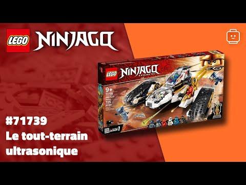 Vidéo LEGO Ninjago 71739 : Le tout-terrain ultrasonique