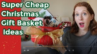 Super Cheap Christmas Gift Basket Ideas 2019: Great Co-Worker & Neighbor Gifts!