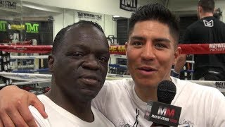 Jessie Vargas on his return to the Mayweather Boxing Club