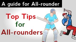 Tips For All-rounder | How can I be a good all rounder in cricket | All Rounder | Cricket G