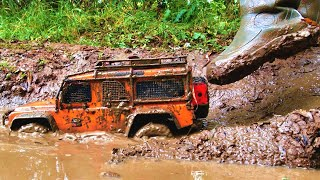 Rc Cars crash and crazy OFF Road Mudding