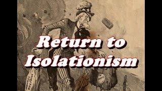 American Isolationism - 1920s