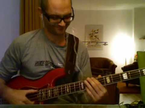 glide - pleasure - bass playalong excerpt