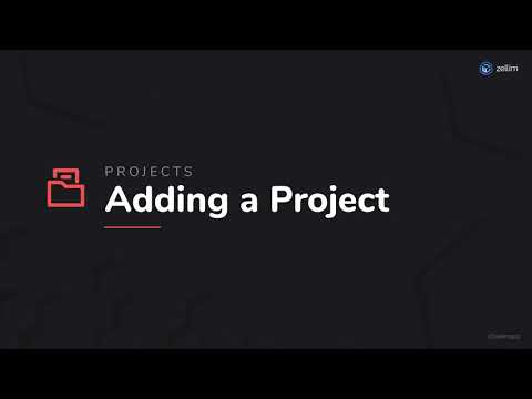 Adding a Project