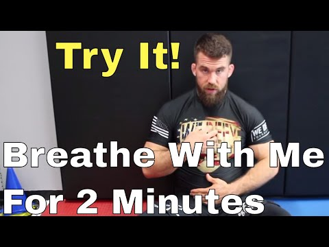 Breathing Technique I Use To Relax After BJJ Training & Kill Anxiety