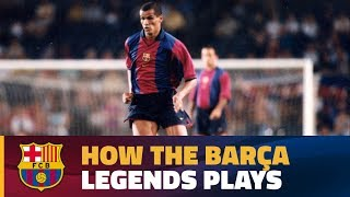 Some of the best moments of the legends that will be playing at the Camp Nou on 30 June