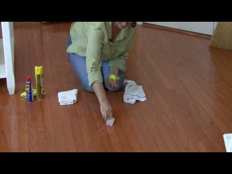 - Video: How To Remove Scuff Marks From Wood Floors EHow