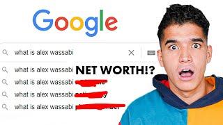 How Much Does Alex Wassabi Make? | GOOGLING MYSELF