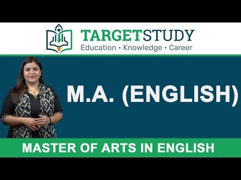 MA English - Master of Arts in English - Details, Eligibility, Syllabus, Admission, Fee