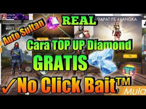 Cara Top Up Diamond Gratis Tanpa Keluar Uang ✓Auto Sultan || Free Fire Indonesia