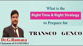 How to prepare for GENCO/TRANSCO AE (Part 1) by Dr. G. Ramana || GATE VIDEO CLASSES