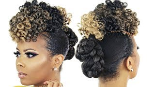 "<center><p>Curly Crochet Faux Hawk</p></center>"" />             </div>   </div>   <div class="