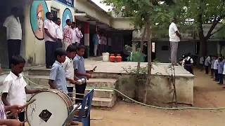 Hyperlapse video of Government School Prayer being conducted in Dadapur School, Doma mandal