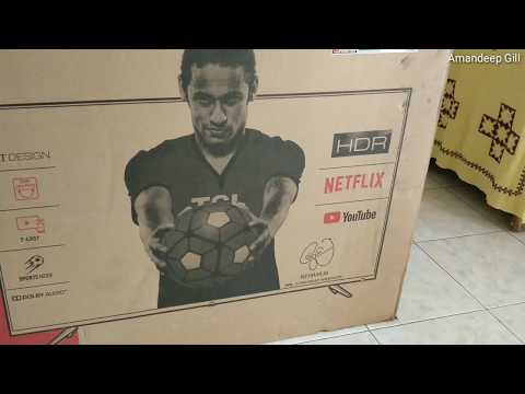 TCL 43P6US TV Unboxing | Review in India | Hindi