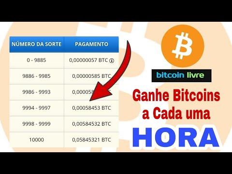 Bitcoins Grátis a cada uma Hora - Como Ganhar Bitcoins 2018 - FREEBITCOIN