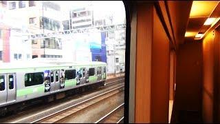12寝台特急サンライズ瀬戸で満員電車をゴボウ抜き広島の旅第5日《京都駅→東京駅》