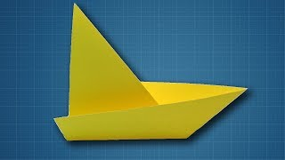 How to Make a Paper Sailboat | Origami Sailing Boat Making Tutorial