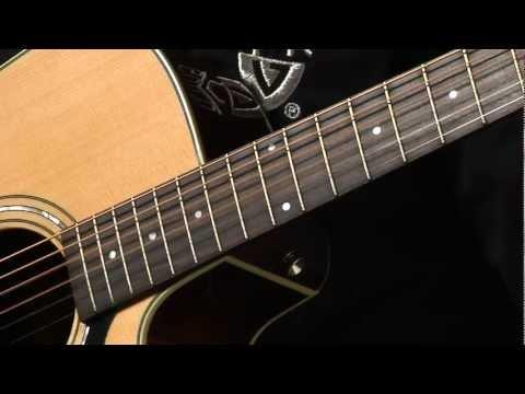 Guild D-140CE Semi Acoustic Guitar Natural with Case