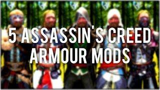 Skyrim Special Edition: ◼️ 5 Assassin's Creed Armour Mods ◼️ | Killerkev