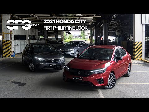 2021 Honda City First Philippine Look