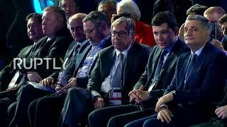 Live:PutinattendsValdaiClubplenarysession