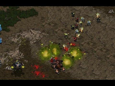 alemskdlt (Z) v IdrA (T) on Heartbreak Ridge - StarCraft  - Brood War REMASTERED