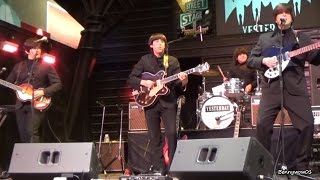 Dizzy Miss Lizzy The Beatles Tribute Band Yesterday At Fremont Street Experience Las Vegas