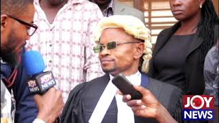 Fake Lawyer who was arrested during court proceedings at Techiman speaks to JoyNews