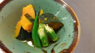 宝塚受験生の美腸レシピ〜南瓜の煮物〜のサムネイル