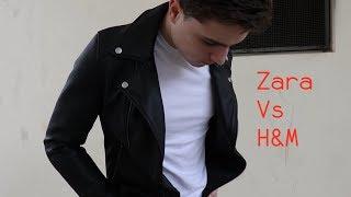 Zara Vs H&M   Leather Jacket Comparison