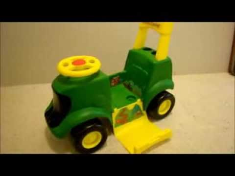 John Deere Sit N Scoot Activity Tractor by Learning Curve