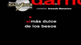 SOMOS NOVIOS Armando manzanero KARAOKE