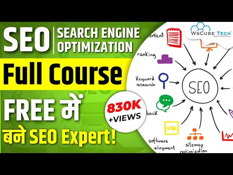 Full Search Engine Optimization Course for Beginners - in 6 Hours | WsCube Tech