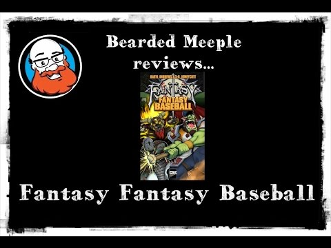 Bearded Meeple reviews Fantasy Fantasy Baseball