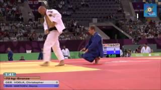 Russia ve Germany European judo teams championships - Baku 2015