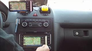 Smartlink mit einem Zenec Z-E2015 und einem Samsung S8+ mit Android9