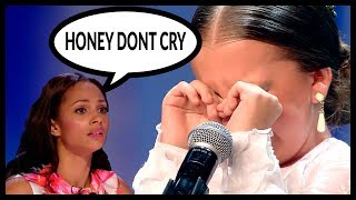 Top 5 WHEN CHILDREN START TO CRY* And Get EMOTIONAL On GOT TALENT WORLD!