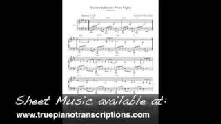 Existentialism On Prom Night - Straylight Run - Piano