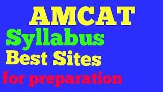 amcat syllabus | amcat Preparation sites and channels