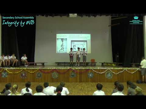 Secondary School Assembly: Integrity by 8NB