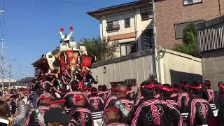 平成30年 10月21日 八田荘だんじり祭り 大池パレード