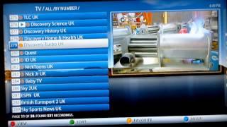 Seganova IPTV Test mit MAG 254 (MAG 250) - Deutsches Fernsehen Weltweit