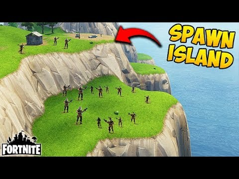 HOW TO GET OUTSIDE SPAWN ISLAND! - Fortnite Funny Fails and WTF Moments! #168 (Daily Moments)