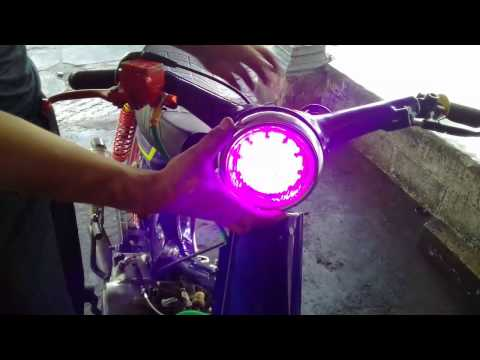 Video Cara Pasng Lampu Proje Honda C70