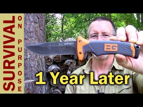 Gerber Bear Grylls Ultimate Survival Knife – One Year Later