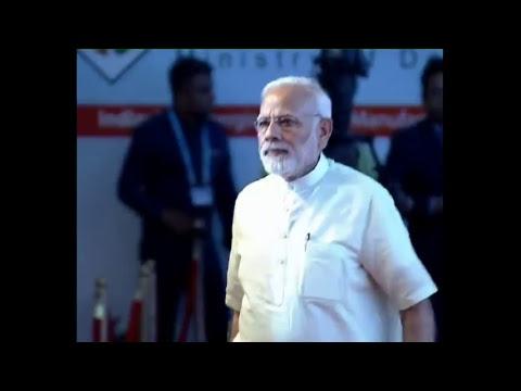 PM Modi at the inaugural function of DefExpo 2018 in Mahabalipuram