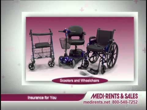 Medi-Rents & Sales, Inc. Company Commercial Medi-Rents is a locally owned Home Medical equipment and supply company serving the Mid-Atlantic region since 1980.